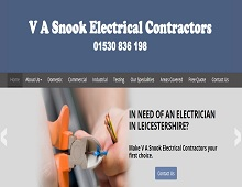 V A Snook Electrical Contractors - Electrician Coalville, Leicestershire