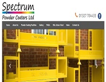 Spectrum Powder Coaters Ltd - Powder Coating Company Daventry